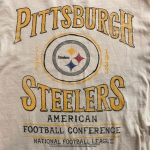 c80c04a64 Junk Food Clothing Shirts & Tops - Junk Food Pittsburgh Steelers Football  Raglan Tee
